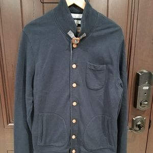 Ted Baker London Coat Jacket Size 6 Navy Blue